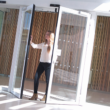 Gilgen Automatic Door helps reduce fire risk