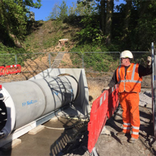 Concrete jacking pipes for Cumbrian flood alleviation scheme