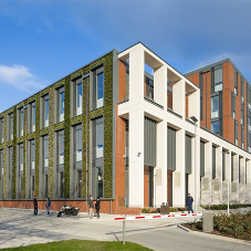 Ancon at UK's largest non-residential PassivHaus building
