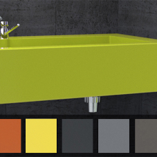 Introducing 6 new Solid Surface colours for vanity units