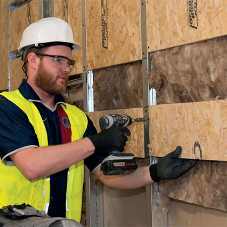SMARTPLY PATTRESS PLUS reduces install time on site