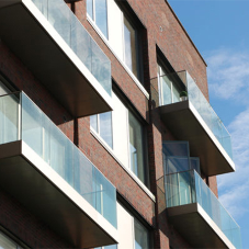 Sapphire balconies in office-to-homes conversion