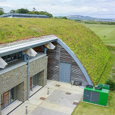 Bailey Eco roof blends seamlessly with St Andrews