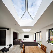 An elegant, unobtrusive solution for residential extension