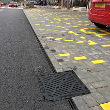 Gatic channel drainage installed at Shopping Centre