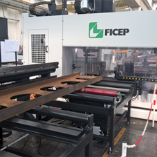 Westok invests heavily into bespoke FICEP Endeavour Saw & Drill Line