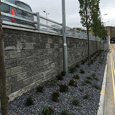 Fortrac Geogrid at Plymouth coach station