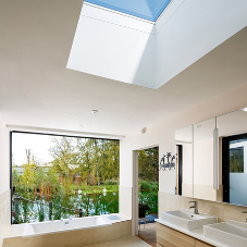Sunsquare rooflights for stunning contemporary home