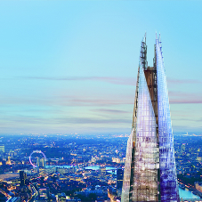 Permanent vertical transportation solutions at The Shard