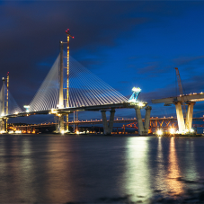 21KM of stainless steel strand for Queensferry Crossing