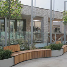 Planting & seating solutions for Westgate centre
