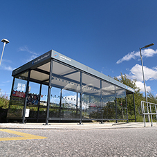Broxap update passenger shelters at Leeds Airport
