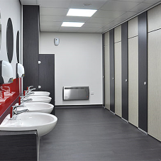 Cubicle Centre upgrades washroom facilities at Ashland