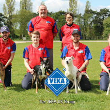 VEKA UK-sponsored dog team rounds up Vegas visitors
