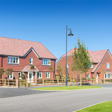 Brickfab products for 100s of homes at Tadpole Garden Village