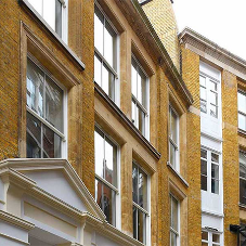 Flush casement windows for London redevelopment