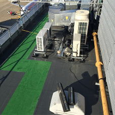 Kemper facilitates roof refurb at Gatwick Airport