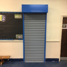 Steel roller shutters for North Bridge House School