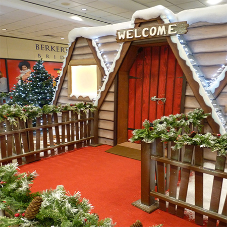 Supacord at Santa's Grotto in Manchester Arndale Centre