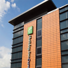 Kingfisher louvre system for Holiday Inn