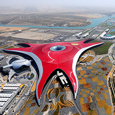 FLAG waterproofing for Ferrari World