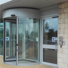 Offices open for business with TORMAX entrance
