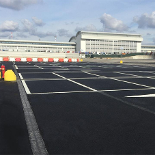 MULTIV+ drainage channels for Malpensa airport