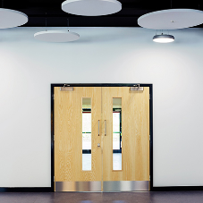 Ahmarra doorsets at England's first new grammar school