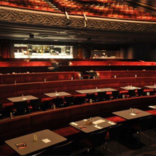 Banquet seating for the Royal Court Theatre