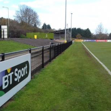 Alexandra secures fans at Kings Langley FC grounds