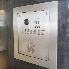 Videx door entry management system at Connaught House