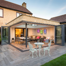 Origin bi-fold doors brings orangery to life