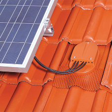 Klober solar accessories for Low Carbon Exchange