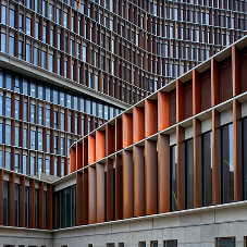 3000 Hudevad Lignum radiators at Copenhagen University