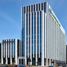 Concrete repairs at Scottish Power Building
