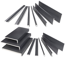 New Anthracite Grey TEXTURED & SMOOTH Foiled Profiles