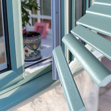 New Chartwell Green window trims from Swish