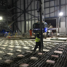 CEMEX provides concrete for Europe's first ever strongfloor