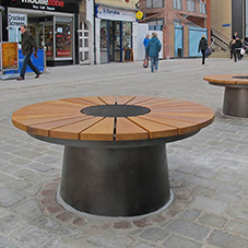 Visual seating for Lincoln city centre