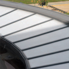 Continuous rooflight for Brunel University