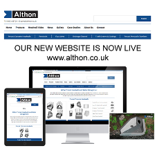 Althon's new website is now live