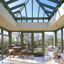 David Salisbury delivers a Modern Orangery to Jersey