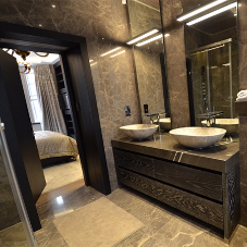 Interiors for luxury apartment in Mayfair
