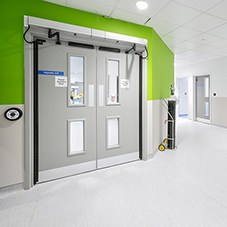 Wall protection at Bristol Royal Infirmary