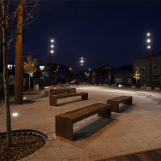 East London space transformed with landscaping