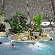 CRONUS Cubicles for Tropical Islands Resort in Germany