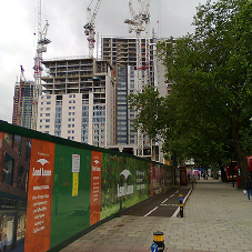 SCFR at Elephant Park Development in London