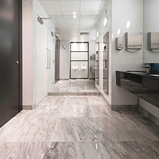 Washroom fit-out for prestigious London office