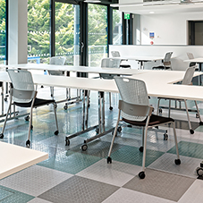 Durable floor tiles for Loughborough University