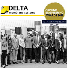 Delta shortlisted for Ground Engineering Awards 2018